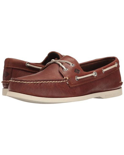 Sperry Top-Sider | Brown A/o 2-eye Cross Lace for Men | Lyst