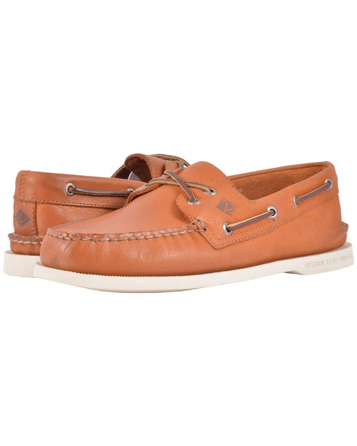 Sperry Top-Sider   Natural A/o 2-eye Cross Lace for Men   Lyst