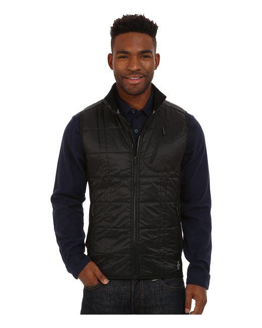Smartwool   Black Corbet 120 Vest for Men   Lyst