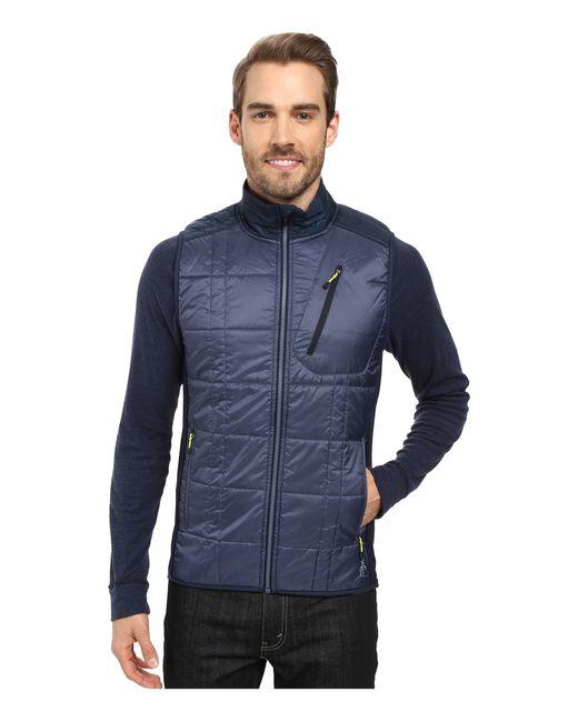 Smartwool | Blue Corbet 120 Vest for Men | Lyst