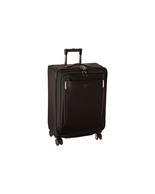 "Victorinox | Black Werks Traveler 5.0 - Wt 24"" Dual Caster Expandable 8-wheel Upright 