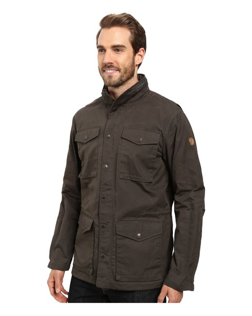 Fjallraven Raven Jacket In Gray For Men Lyst