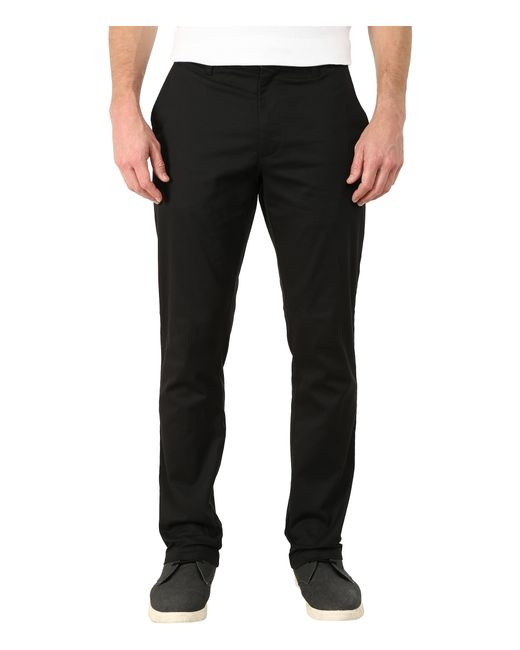 RVCA | Black The Week-end Stretch Pants for Men | Lyst
