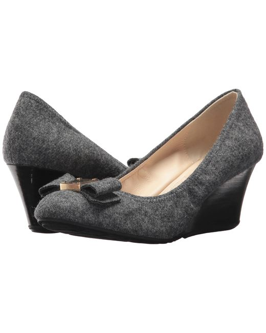 Cole Haan | Gray Tali Grand Bow Wedge 65 | Lyst
