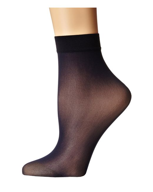 Wolford | Blue Individual 10 Socks | Lyst