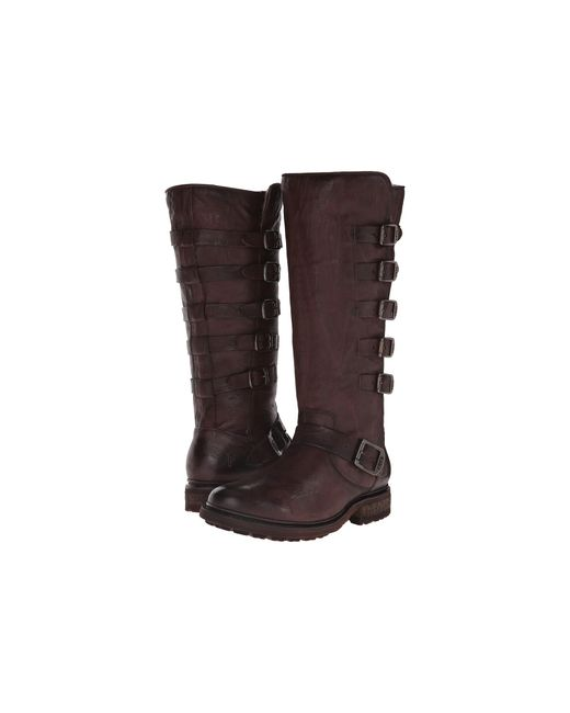 Frye   Brown Valerie Belted Tall   Lyst