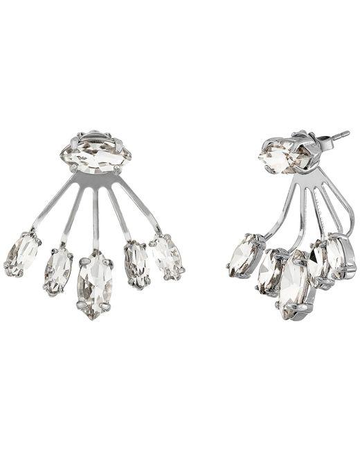 Rebecca Minkoff | Metallic Pheonix Front Back Earrings | Lyst