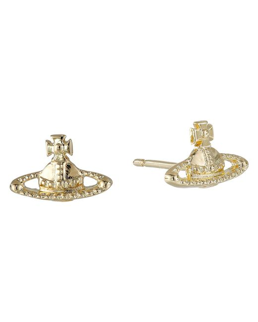Vivienne Westwood | Metallic Farah Earrings | Lyst