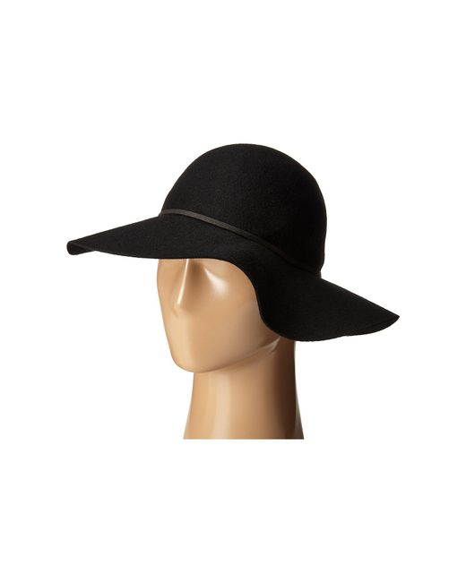San Diego Hat Company | Black Wfh7950 Floppy With Round Crown And Faux Suede Band | Lyst