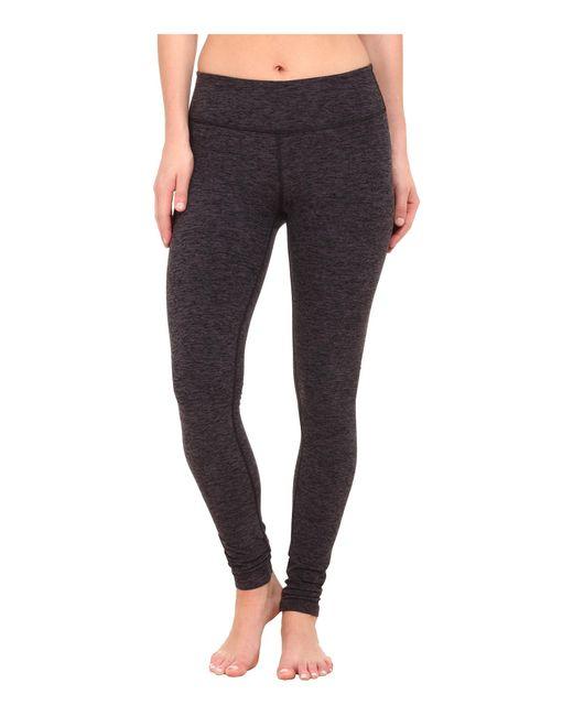 Beyond Yoga | Black Spacedye Long Essential Leggings | Lyst