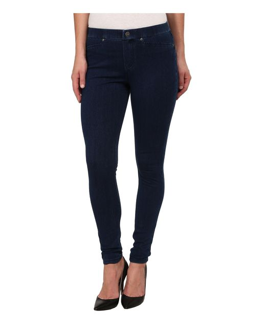 Hue | Blue Super Smooth Denim Leggings | Lyst