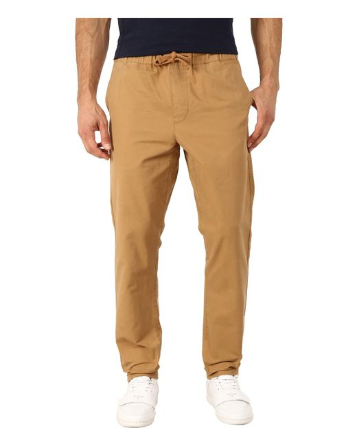 Obey | Natural Travelers Slub Twill Pants for Men | Lyst