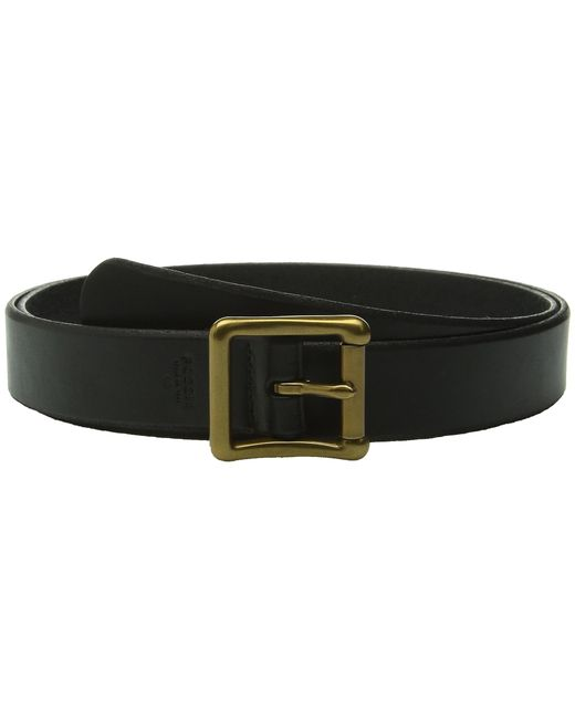 Fossil | Black Modern Roller Buckle Belt | Lyst