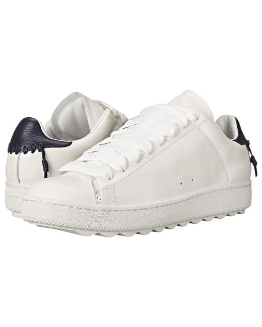 COACH | White Leather C101 for Men | Lyst