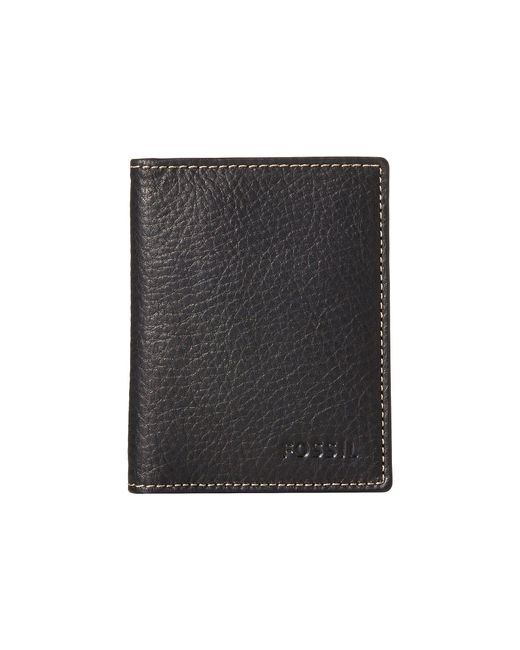 Fossil | Black Lincoln Card Case Bifold for Men | Lyst