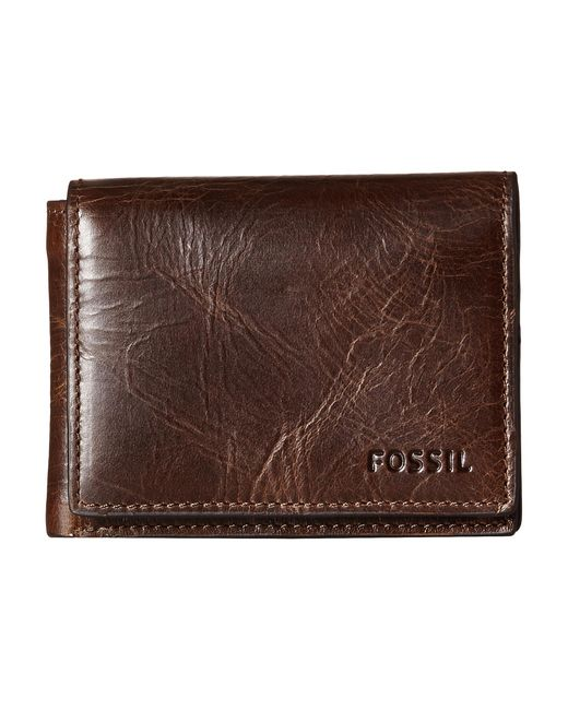 Fossil   Brown Derrick Execufold for Men   Lyst