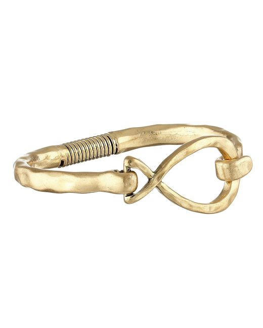 The Sak | Metallic Twist Spring Bangle Bracelet | Lyst