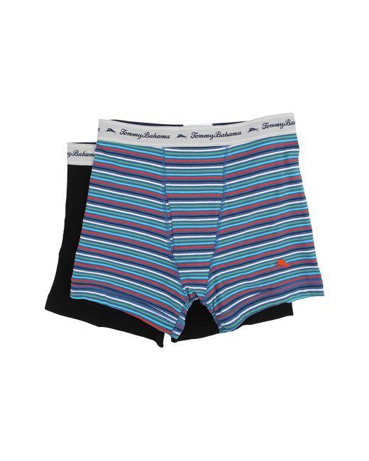Tommy Bahama | Multicolor Stripe Stretch Cotton Comfort Boxer Briefs 2-pack for Men | Lyst