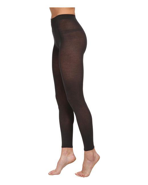 Falke | Gray Cotton Touch Leggings | Lyst