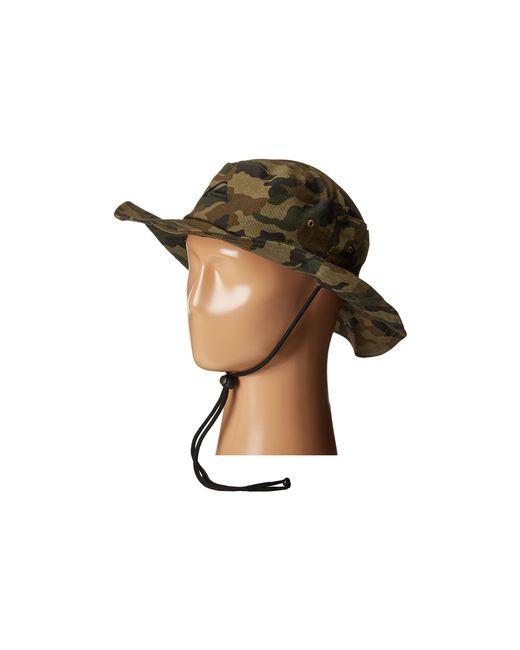 Quiksilver | Green Bushmaster Hat for Men | Lyst