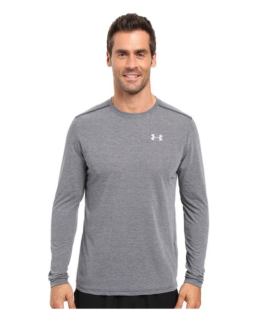 Under Armour | Blue Ua Streaker Longsleeve Tee for Men | Lyst