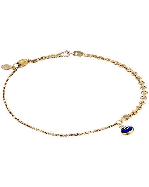 ALEX AND ANI | Metallic Evil Eye Track Pull Chain Bracelet | Lyst