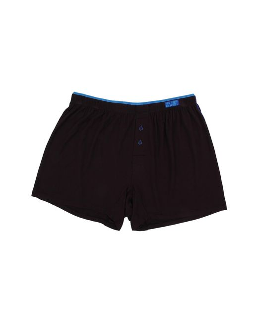 2xist | Black Barcode Modal Knit Boxer for Men | Lyst