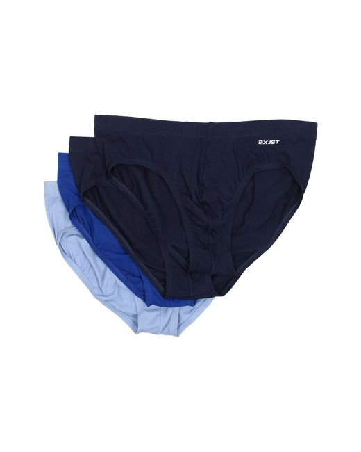 2xist | Blue Essentials 4-pack Bikini Brief for Men | Lyst