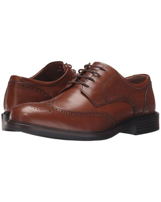 Johnston Amp Murphy Tabor Wingtip In Brown For Men Lyst