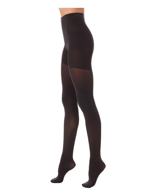Spanx | Gray Luxe Leg Shaping Tights | Lyst