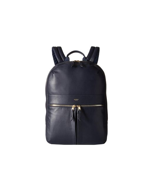 Knomo | Blue Beaux Laptop Backpack | Lyst