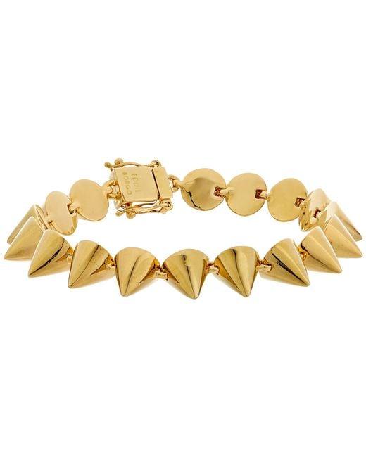 Eddie Borgo | Metallic Small 17 Cone Bracelet | Lyst