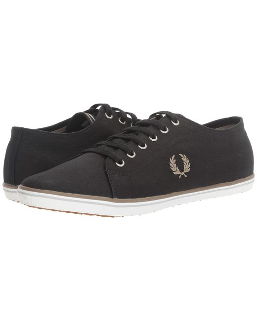 Fred Perry | Black Kingston Twill for Men | Lyst