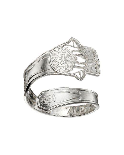 ALEX AND ANI | Metallic Fish Wrap Ring | Lyst