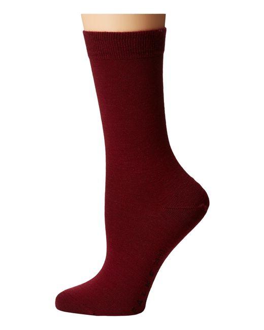Falke | Purple Soft Merino Sock | Lyst