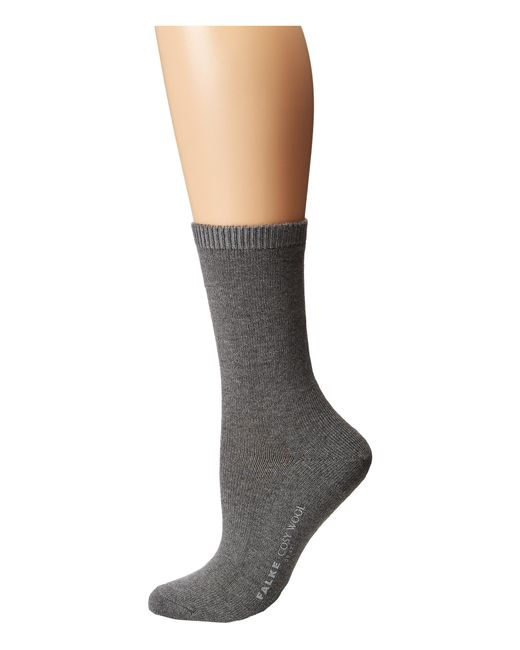 Falke | Gray Cosy Wool Sock | Lyst
