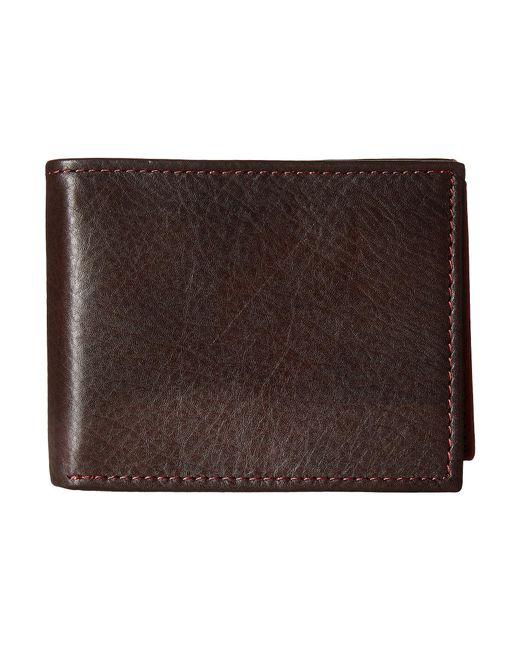 Johnston & Murphy   Brown Flip Billfold Wallet for Men   Lyst