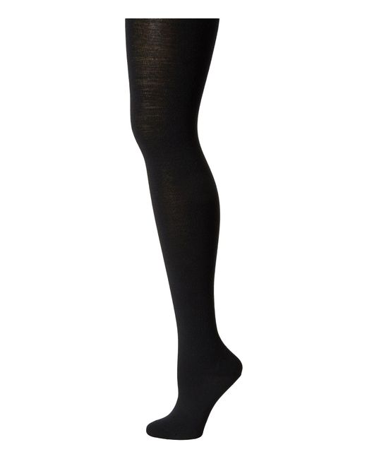 Falke | Black Soft Merino Tights | Lyst