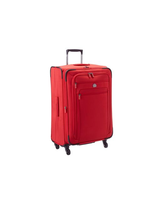 """Delsey   Red Helium Sky 2.0 25"""" Exp. Spinner Trolley   Lyst"""