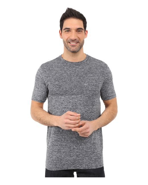 The North Face | Gray Short Sleeve Engine Crew for Men | Lyst