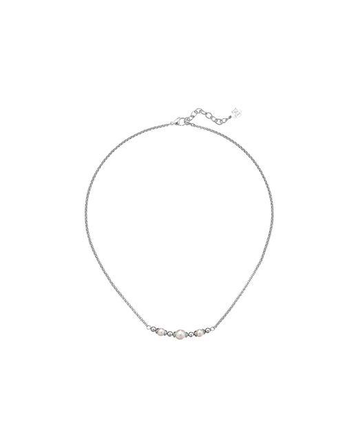 Majorica | Metallic Allison Bar Necklace | Lyst