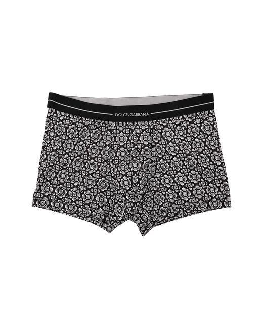 Dolce & Gabbana | Black Boxer for Men | Lyst