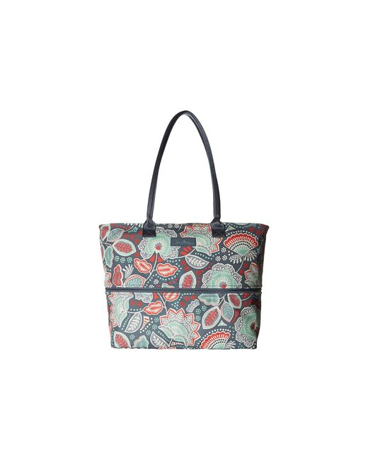 Vera bradley Lighten Up Expandable Travel Tote in Multicolor | Lyst