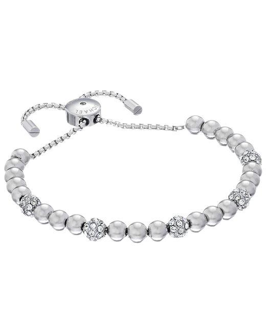 Michael Kors | Metallic Blush Rush Pave Adjustable Bracelet | Lyst