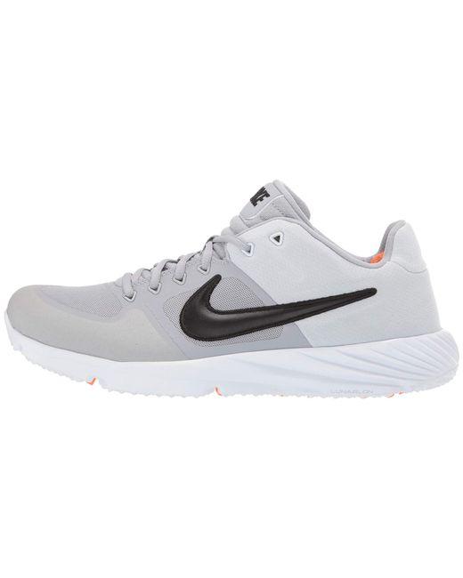 a9de8254e4ea3 ... Nike - Gray Alpha Huarache Elite 2 Turf (game Royal white gym Blue ...