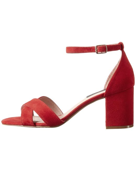 Red dress sandals zappos