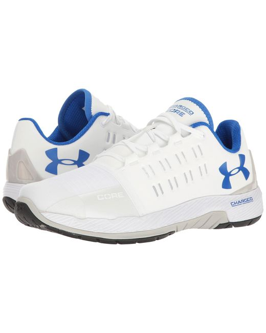Under Armour | White Ua Charged Core for Men | Lyst