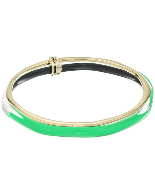 Alexis Bittar | Green Liquid Metal Paired Bangle | Lyst