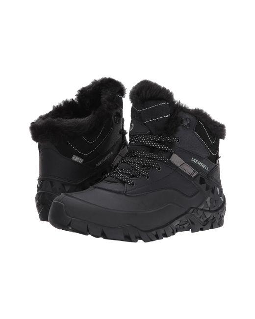 Merrell   Black Aurora 6 Ice Wtpf Winter Boots   Lyst