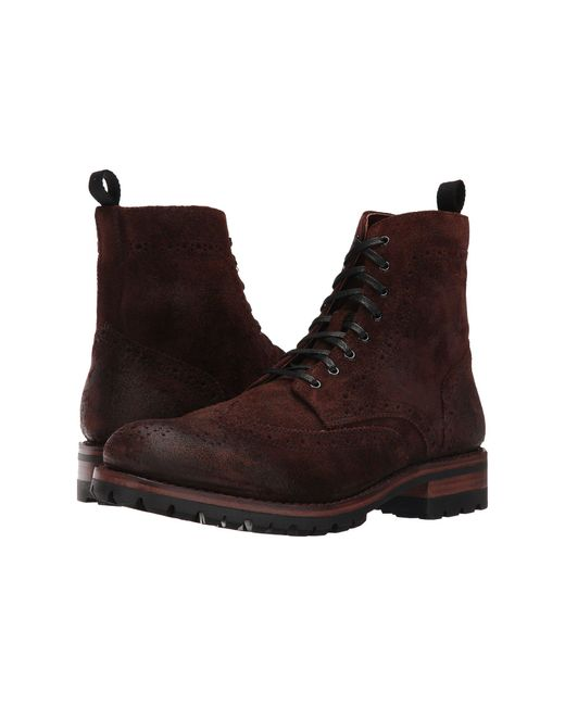 Frye | Brown George Lug Brogue Lace-up for Men | Lyst